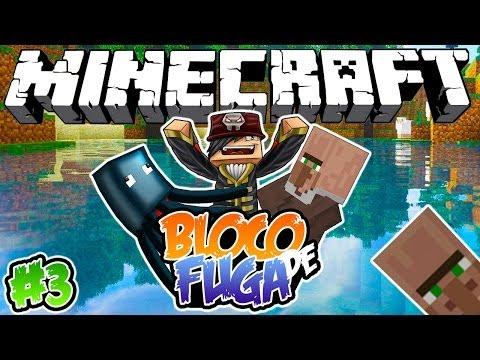 INVADIDO POR LULAS! - Bloco de Fuga: Minecraft #3
