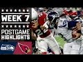 Seahawks vs. Cardinals (Week 7) | Game Highlights | NFL