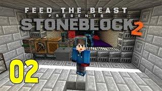 STONEBLOCK 2 | EPS 2 | MOB FARM DAN MINING DIMENSION - Minecraft Mods Indonesia