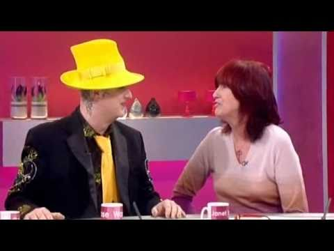 Boy George interview on Loose Women - 9th February 2011 (Wide)