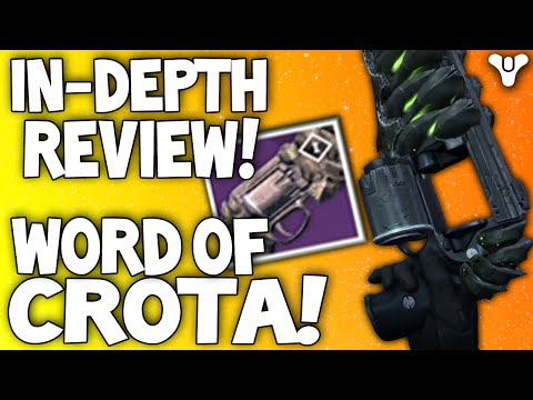 Destiny: Word Of Crota In-Depth Review / Crota's End Hardmode Hand Cannon (Explosive Rounds Or Not?)