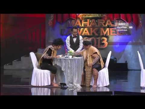Maharaja Lawak Mega 2013 - Minggu 6 - Persembahan Sepahtu