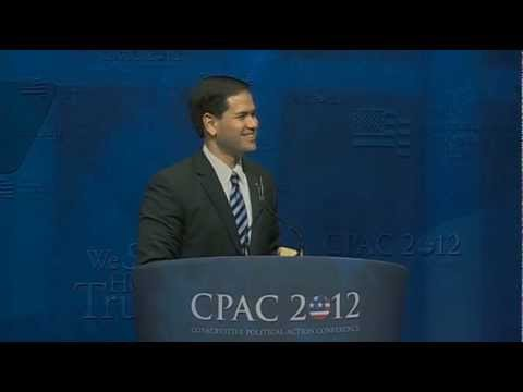 Senator Marco Rubio Addresses CPAC 2012