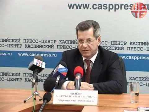 Встреча проектных менеджеров молодежных общественных редакций с губернатором Астраханской области