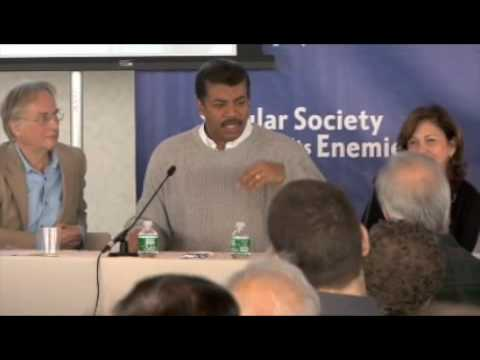 Panel Discussion: Dawkins Tyson Druyan Stenger Grothe