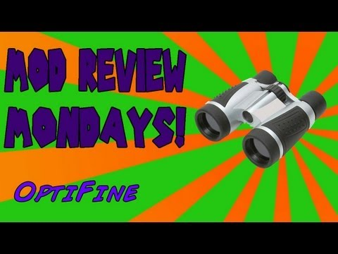 How to install and use Opti-Fine - 1.5.2 and UP!! - Mod Review Monday's
