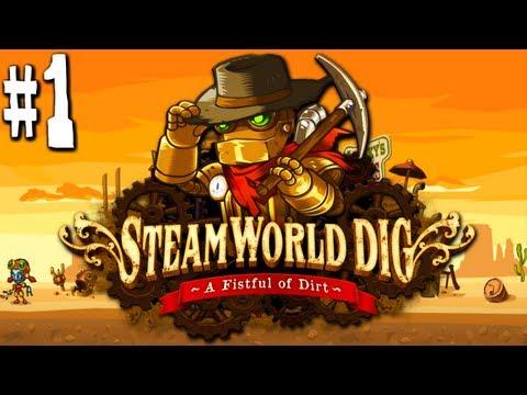 Steamworld dig minecraft meets spelunky meets metroid nintendo 3ds