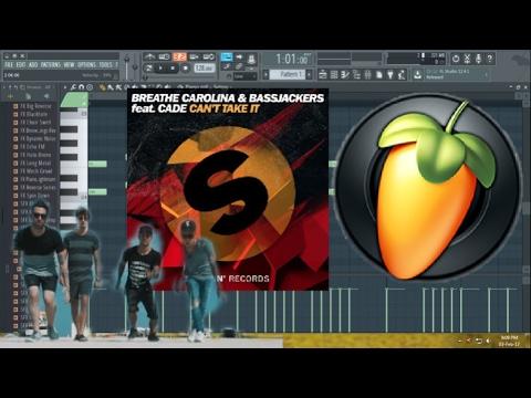 Breathe Carolina & Bassjackers feat. CADE - Can't Take It (FL Studio Tutorial)