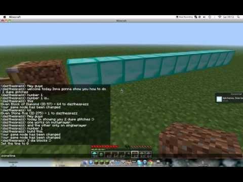 Minecraft dupe glitch 1.4.6 multyplayer No hacks needed