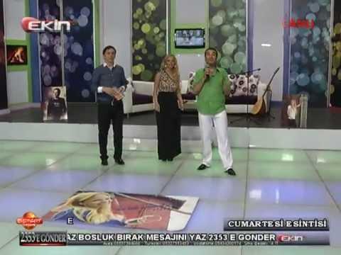 EKİN TV ÖZLEM DEMİR İLE ALİ AKYÜREK (CUMARTESİ ESİNTİSİ)01-06-2013***3