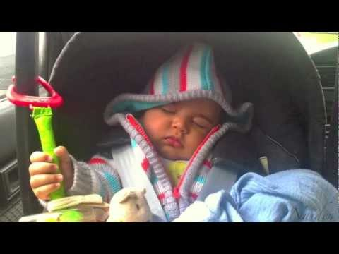 Dad Bottle Feed Mom's Expressed Milk 1st Time :) video