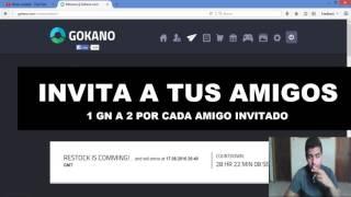 Como ganar mas puntos  en Gokano GN |  Restock Alarma 16 de AGOSTO