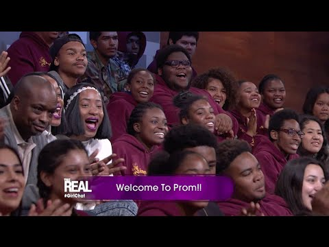 Washington Prep High Joins 'The Real' Prom