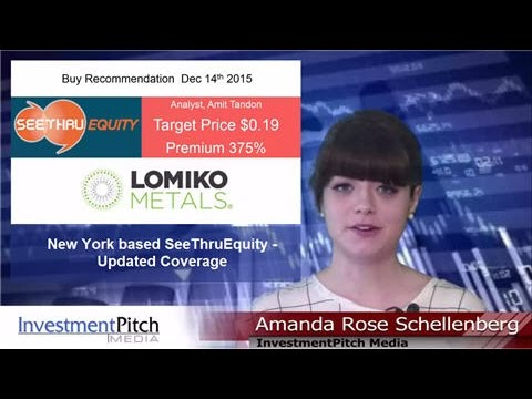 SeeThruEquity has updated coverage on Lomiko Metals (TSXV:LMR)