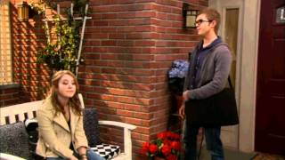 Lennox and Roman from Melissa & Joey ( Chris Brochu and Taylor Spreitler )