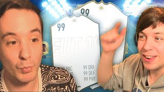 WE BOTH GET A NEW ICON OMFG!!! - FIFA 19 ULTIMATE TEAM
