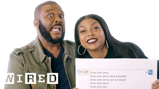 Taraji P. Henson & Tyler Perry Answer the Web's Most Searched Questions | WIRED