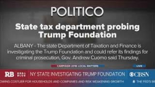 New York state investigating the Trump Foundation
