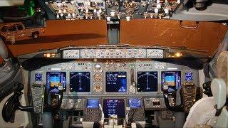 Cockpit Flight | Boeing 737-700 SAS | OSL-CPH (HD)