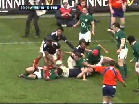 Six Nations 2011 Ireland vs France - Ireland vs France Six Nations 2011