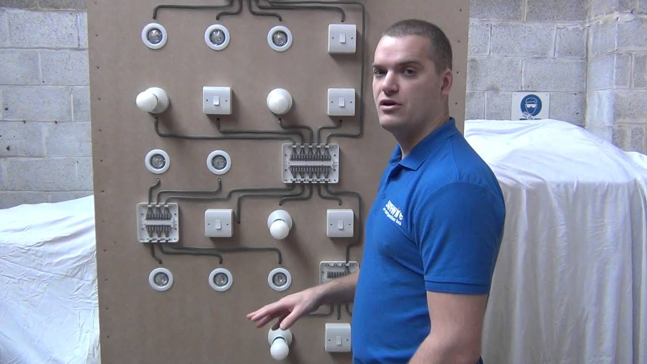 How To Install A Wall Light Junction Box : Surewire Pre-wired Maintenance Free Lighting Junction Boxes - YouTube