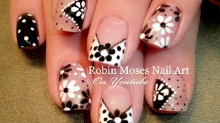 DIY Easy Dot Flower Nail Art for Beginners! | Cute Daisy Nails Design Tutorial