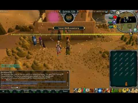 99 fishing and 99 cooking party (Xatrion and Zatrion LTU)