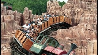 Magic Kingdom Big Thunder Mountain Railroad New Interactive Queue and POV Ride Walt Disney World