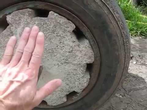 Утяжелители колес для мотоблока своими руками 43