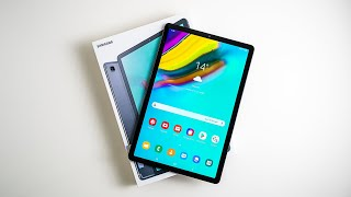Samsung Galaxy Tab S5e Unboxing & First Impressions (Including WiFi Test)