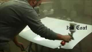 (NEW) HARBOR FREIGHT HVLP SPRAY GUN 68843 TEST & REVIEW