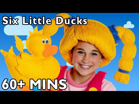 Six Little Ducks and More | Nursery Rhymes from Mother Goose Club!
