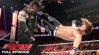 WWE Raw Full Episode, 9 May 2016
