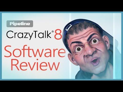 CrazyTalk 8 Pipeline Software Review (Win. 64 bit)