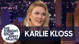 Karlie Kloss Judges Jimmy's Past Red Carpet Fashion Faux Pas