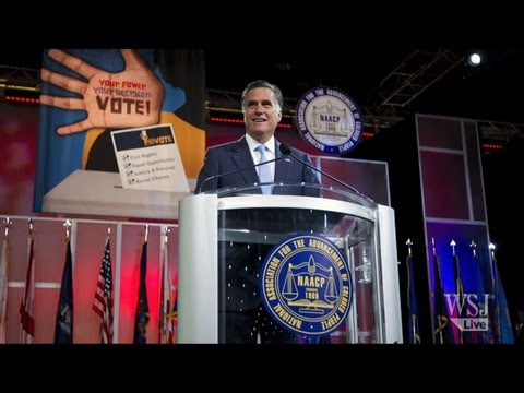 Romney at the NAACP: WSJ Opinion