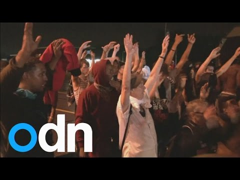 One person shot during Ferguson curfew protest