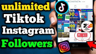 Best app to increase TIKTOK and INSTAGRAM followers | how to increase Instagram followers (2019)