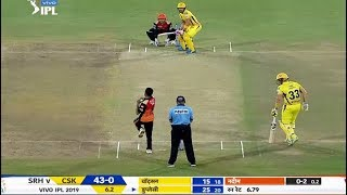 Live Cricket Score: Chennai super kings Vs Sunrisers Hyderabad IPL Live 2019