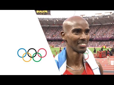 Athletics Men's 5000m Final - London 2012 Olympic Games Highlights