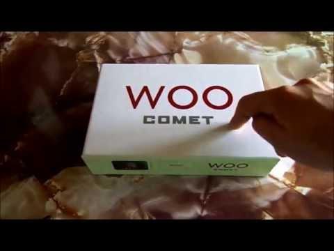 Desempaquetado de la tableta Woo Comet
