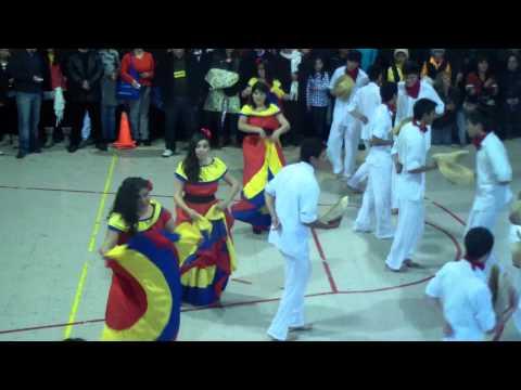 baile cumbia colombiana