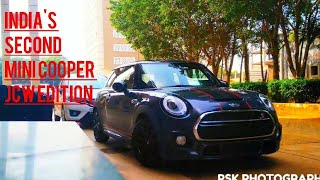 INDIA'S SECOND MINI COOPER S JCW EDITION CARBON