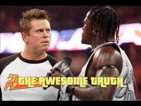 Wwe The Awesome Truth Theme - U Suck ( The Miz And R-truth ) video