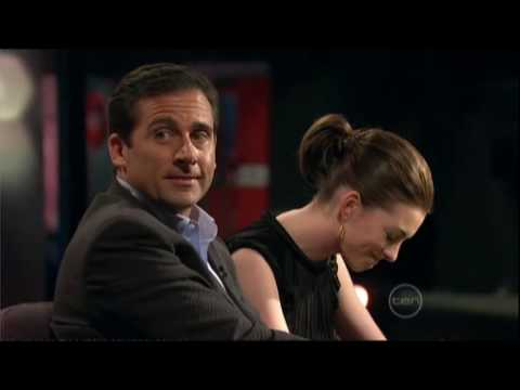 Steve Carell & Anne Hathaway interview on ROVE - Part 2 (of 2)