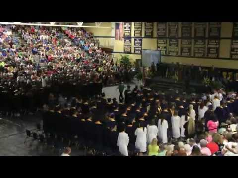 Knox Central High School - Commencement - Timelapse