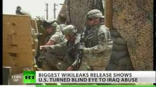 WikiLeaks Iraq War Logs: Torture, civilian death toll revealed in latest leak