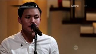 Rizky Febian Kau Adalah Isyana Sarasvati Cover Live at Music Everywhere