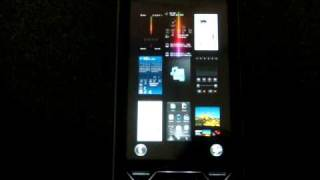 Sony Ericsson XPERIA X1 Panel Tour