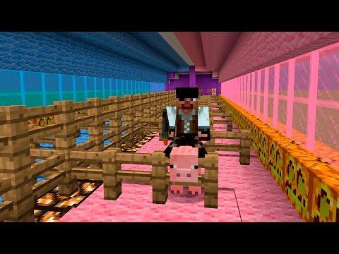 Minecraft:Прохождение карты | Свинка Пеппа №1